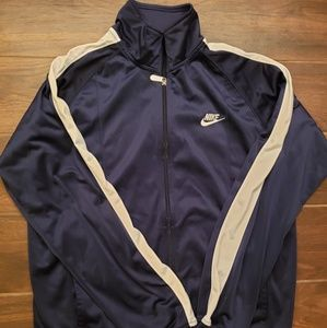 VTG Nike Sportswear Track Jacket Mens Zip Up